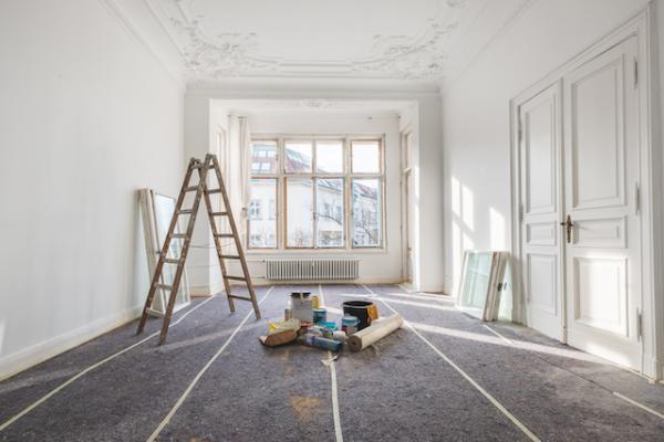 Locataire travaux appartement saint Malo