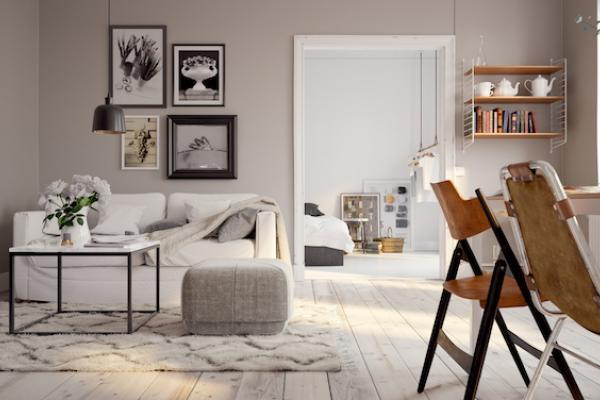 appartement dédié à la location