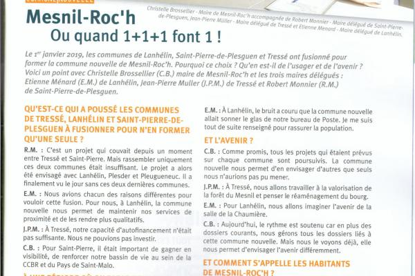 article mesnil roc'h